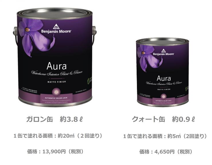 2サイズの缶(説明入))