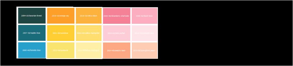 カラーチャートから色を選ぶ