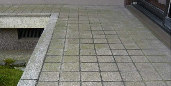 玄関じきタイルの汚れを掃除方法