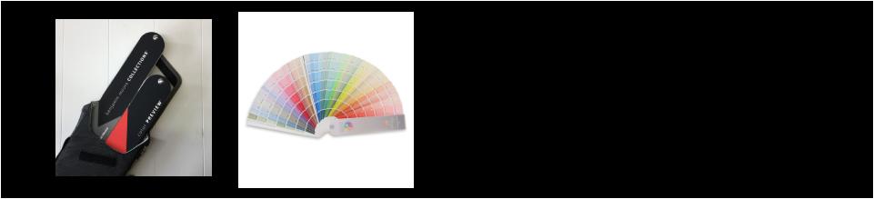 ベンジャミンムーア色見本帳から色を選ぶ