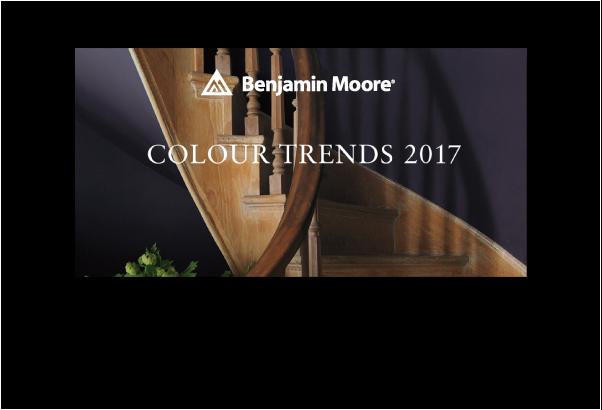 ベンジャミンムーアをカラートレンド2017から選ぶ