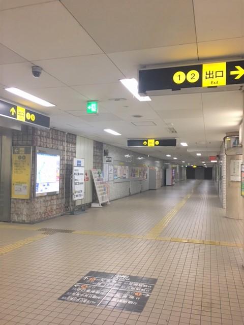 都島駅通路2